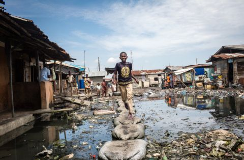 Poor sanitation in Lagos