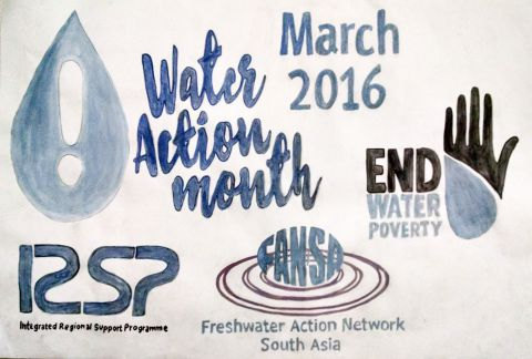 Water Action Month 2016 IRSP poster