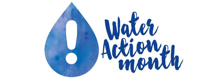 Water Action Month 2017 logo